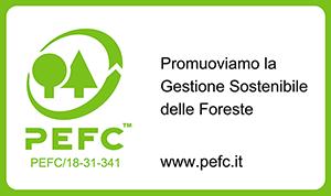 Logo PEFC Eco Holz