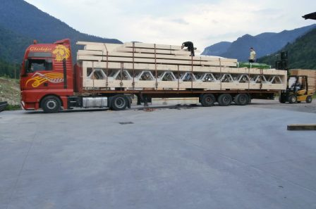 Capannone industriale in legno - ECO-HOLZ