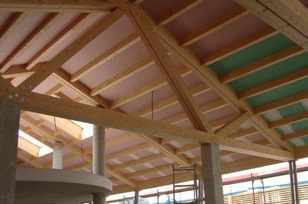 Tetto in legno per Garda Cartiere - ECO-HOLZ