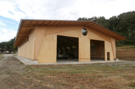Capannone in legno - ECO-HOLZ