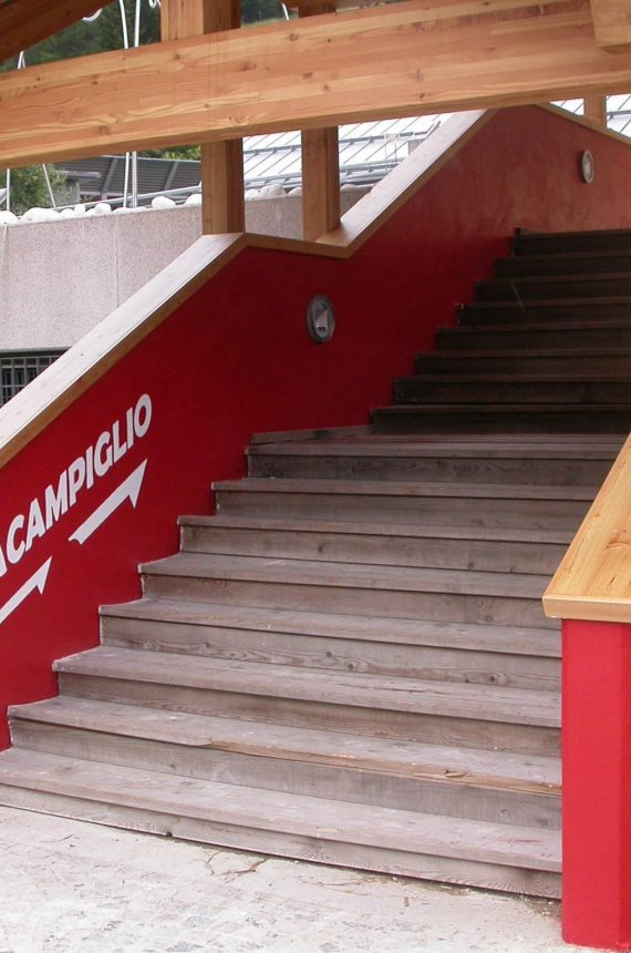 Copertura ingresso PalaCampiglio - ECO-HOLZ