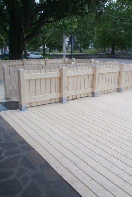 Recinzione in legno - ECO-HOLZ